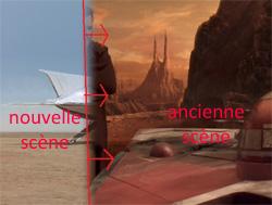 Oubliez les transitions comme celle-ci dans Star Wars