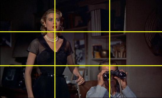 """Résultat de recherche d'images pour """"la règle des tiers cinéma"""""""